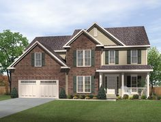 traditional house plan 49197 2700sq 4b 3b 1hb 2g nice layoutmaster
