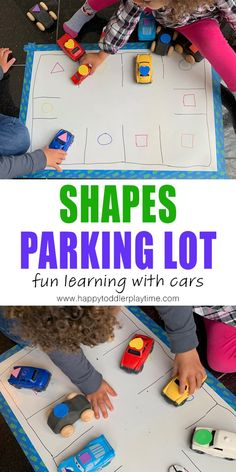 35+ Toy Car and Truck Activities for Kids - HAPPY TODDLER PLAYTIME
