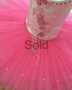 Ballet tutus made to order for festivals, competitions and performances