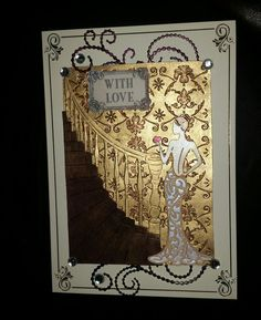 Tattered lace Olivia, stairway and pearl flourish dies.