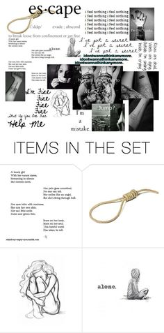 """Untitled #9"" by satanicemokitten on Polyvore featuring art"