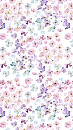 Flower Floral ★ Find more watercolor #iPhone + #Android #Wallpapers at @prettywallpaper