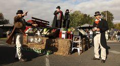Ziegenmarkt. Barossa Vintage Festival.