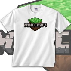 Minecraft Block Logo Gamers T-Shirt New Printed in The U.S.A. (Sizes Youth XSmall - 4XL) on Etsy, $19.02 CAD