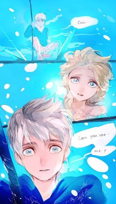 Jack & Elsa - is it just me that thought this was Ellen & Portia on first sighting...?: