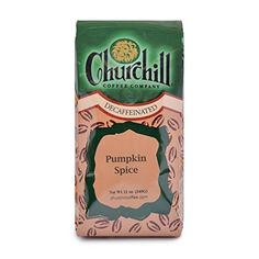 Churchill Coffee Pumpkin Spice 12 oz  Ground Decaf * Be sure to check out this awesome product. Note: It's an affiliate link to Amazon.