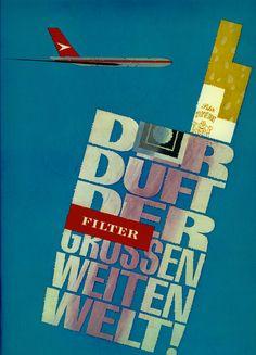 Anzeige für die Marke Peter Stuyvesant, Der Duft der grossen weiten Welt!, 1968