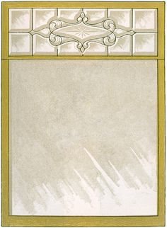 Vintage Lead Glass Window Image! - The Graphics Fairy