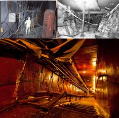 3 separate makeshift lead walled tunnels built inside the ruins of Chernobyl! Chernobyl, Sci Fi Fantasy, Destruction, High Quality Images, Separate, Community, Building, Wall, Photography