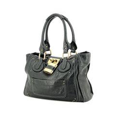 Chloé Paddington en cuir noir 596303bc753