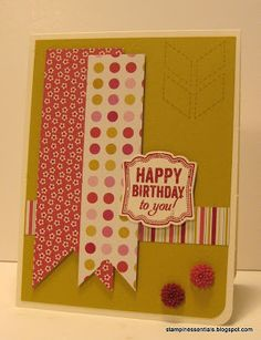 Artisan Label Punch + Label Love Stampin Up! Handmade Birthday Cards, Happy Birthday Cards, Card Making Inspiration, Making Ideas, Bday Cards, Making Greeting Cards, Love Stamps, Card Maker, Card Sketches