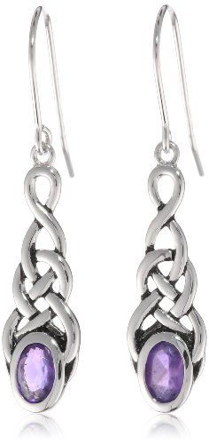 Sterling Silver Celtic Knot Linear Drop Fashion Bug Earrings www.fashionbug.us