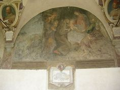 Firenze - Chiostro di Ognissanti - Giovanni da San Giovanni - Storie di San Francesco - 1616 circa