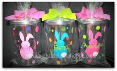 Easter Bunny Acrylic Tumbler. $13.99, via Etsy.