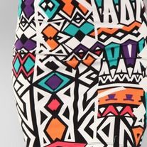 Multi color mini skirt $15.00