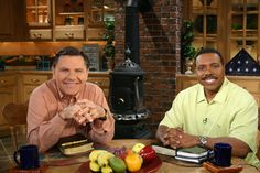 #ThrowbackThursday to June, 2005, when Creflo Dollar was on the Believer's Voice of Victory broadcast with Kenneth. Make sure to wish Brother Creflo a happy birthday this weekend! #TBT #kcm50years #50yearsstrong #50yearsinministry