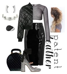 """Mitchel"" by jurneefade ❤ liked on Polyvore featuring Topshop Unique, Chanel, PA5H, STELLA McCARTNEY, Miu Miu, Latelita and Christian Dior"