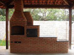 Projetos de fogão a lenha com forno e churrasqueira
