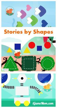 This is a fun way for kids to learn shapes -- interactive stories told by shapes and kids are the ones provide inputs to continue the story. Great learning app for toddler and preschool kids.