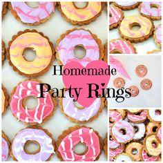 A fun, nostalgic treat for the weekend, try making your own Party Rings. I'm pretty sure that when you speak to any adult born in or around the 80's and mention Party Rings, it will transport them back in time to some loud, crazy kids party, possibly having a My Little Pony/Thundercats theme, pass the parcel, a … … Continue reading →