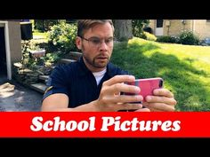 First Day of School Pictures! Now, how the hell does this cellphone camera work?