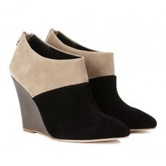 Sole Society Shoes - Wedge booties - Elyse