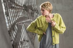 Ravelry: Asymmetrical Collar Jacket pattern by Tammy Eigeman Thompson