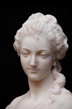 Bust of Marie-Antoinette from Jean-Baptiste Pigalle