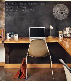 Das Perfekte Arbeitszimmer, 3 Tipps Die Man Unbedingt Probieren Sollte  Wandgestaltung Arbeitszimmer, Schreibtisch Ecke