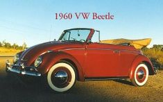 60 VW BETTLE  I would love this!  My first car was a 1974 VW Bug - moon roof and black bra with fuzzy seat covers - I want another one!