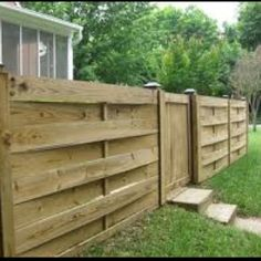 Another front yard fence idea