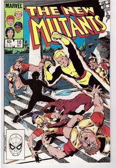 The New Mutants #10 Dec 1983 Marvel Comic Book Betrayal