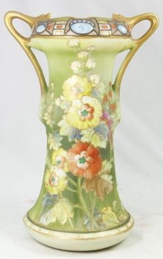 Nippon Vase. Gorgeous! ...MKL...