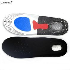 1 Pair Breathable Sneaker Insoles Pad Eva Foam Orthopedic Shoes Insoles Arch Support For Hiking Pain-relief Running Flat Feet Modern And Elegant In Fashion Novelty & Special Use