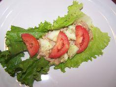 Tuna Lettuce Wraps Recipe, A Low Calorie Meal