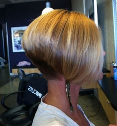 Short Straight Thick A Line Bob Hairstyles 2017