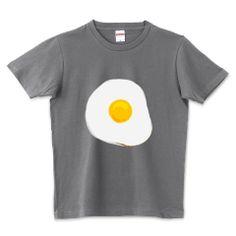 Fried egg t-shirt Trinity T-shirts Japan