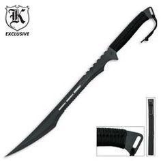 Sharp slender sword