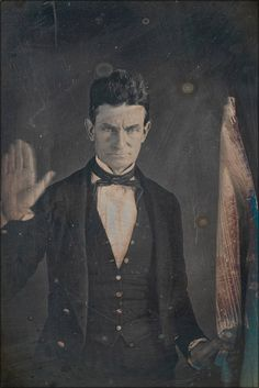 John Brown is one of the most controversial figures in North American history. The government labeled him a terrorist, and gave him the death penalty for a string of murders carried out unde… American Civil War, American History, John Brown Abolitionist, 3rd Grade Social Studies, Library Of America, Anarchism, Frederick Douglass, Civil War Photos, Beautiful Posters