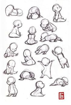 Related posts: ideas drawing poses dancing for 2019 Best Drawing Body Poses 67 Ideas Ideas Drawing Reference Poses Figuras humanas Anatomia Ideas drawing people poses anime Art Drawings Sketches, Cool Drawings, Cute Baby Drawings, Body Sketches, Character Sketches, Contour Drawings, Character Poses, Character Design References, Cute People Drawings
