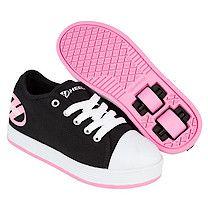 Wheeled Heelys Fresh Black Pink UK 12 Lace Up Shoe Sporting Goods Children  Boys b62750388