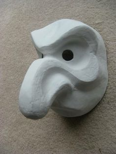 A Larval mask by Trish Leeper