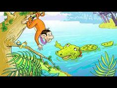 "Panchtantra Ki Kahaniyan | ""चालाक बन्दर"" Chalak Bandar। Kids Hindi Story"