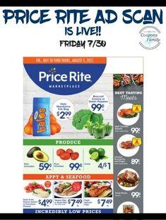 Price Rite Ad 7/30: $2.50 Pepsi 6 pk, $.99lb Broccoli & more