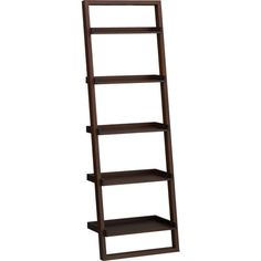 """Sloane Java 25.5"""" Leaning Bookcase in Bookcases, Shelves   Crate and Barrel. Maybe sometime in the next year..."""