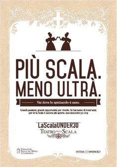 Oggi sulla @Gazzetta_it il @teatroallascala stuzzica gli under 30 ad uno spettacolo più sano #piùScalamenoUltrà