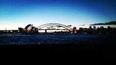 Last day in Sydney- spent the evening watching the sunset over the Opera House and Harbour Bridge. The East Coast adventure begins tomorrow   #sydney #sydneyoperahouse #sydneyharbourbridge #sunset #tourist #traveller #backpackerlife #Australia by hannahperry24 http://ift.tt/1NRMbNv