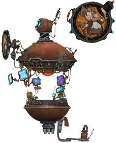 Chua Shop - Characters & Art - WildStar