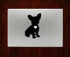 French Bulldog Macbook Pro / Air 13 Decal Stickers