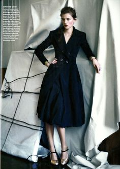Perfect dress coat. DonnaKaran in Allure